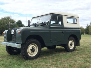 1962 Land Rover Series 2A  SWB, Petrol, Overdrive