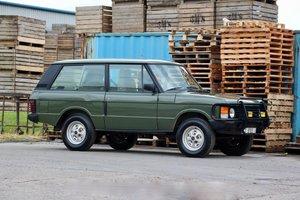 1989 Range Rover Classic 2 Door 2.4TD