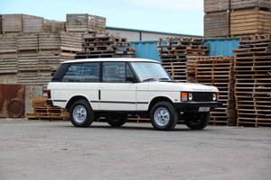 1988 Range Rover Classic 2 Door LHD (USA Eligible) For Sale