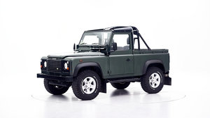 2005 LAND ROVER DEFENDER CONVERTIBLE For Sale by Auction
