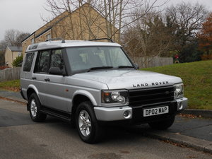 2002 Land Rover Discovery 2.5 TD5 S 7 Seater Auto + FSH SOLD