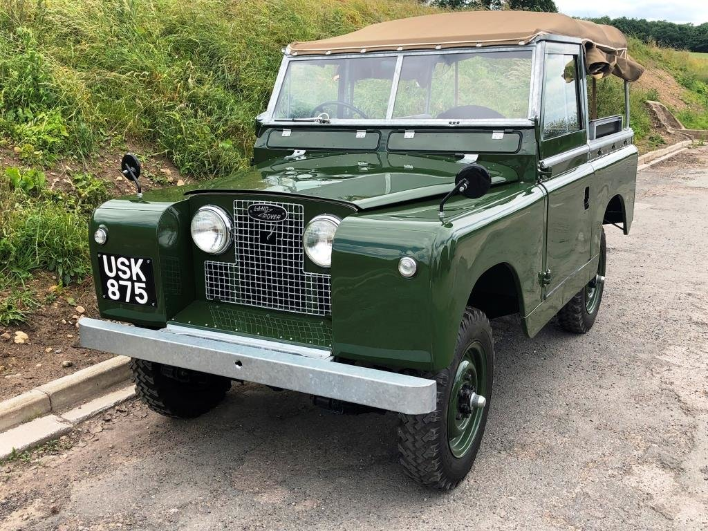 1959 Land Rover Series II, Concours condition For Sale (picture 1 of 10)