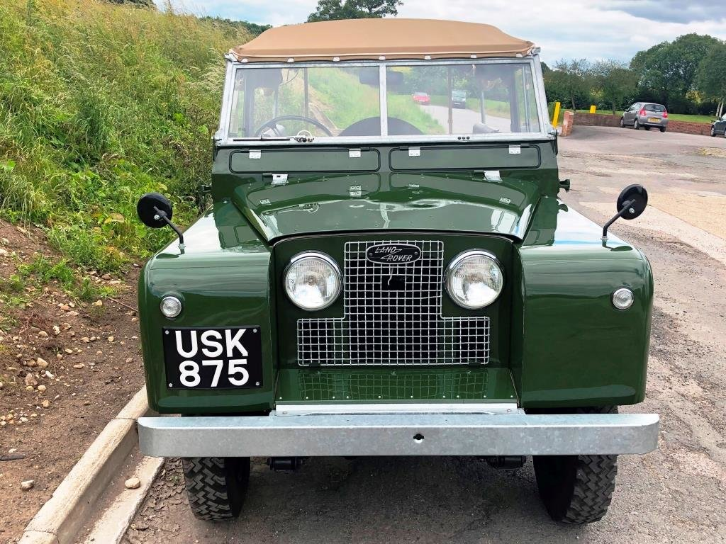 1959 Land Rover Series II, Concours condition For Sale (picture 2 of 10)