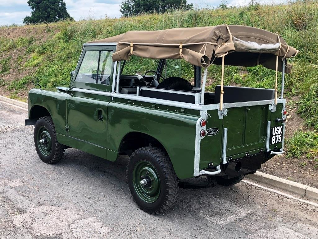 1959 Land Rover Series II, Concours condition For Sale (picture 3 of 10)