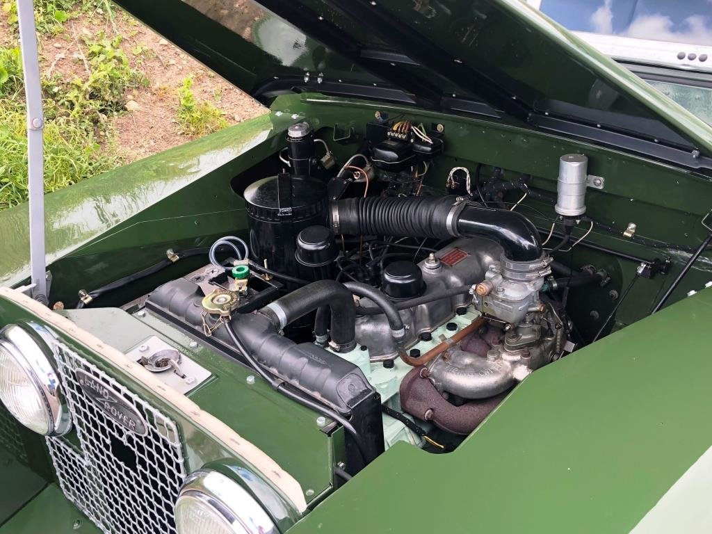 1959 Land Rover Series II, Concours condition For Sale (picture 4 of 10)