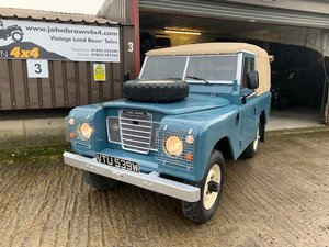 1975 Land Rover® Series 3 *MOT & Tax Exempt* (VTU) For Sale