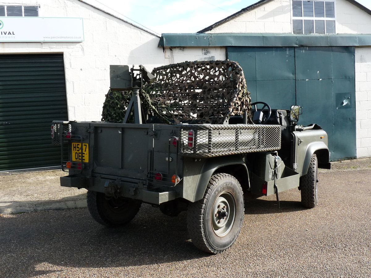 1991 Land Rover Defender 90 Pathfinder LRPV For Sale (picture 2 of 6)