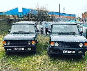 1991 RANGE ROVER OVERFINCH 570CI PROJECT - PLUS A FREE ONE! For Sale