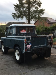1972 Land Rover Series 3 88 truck. 200tdi daily driver.
