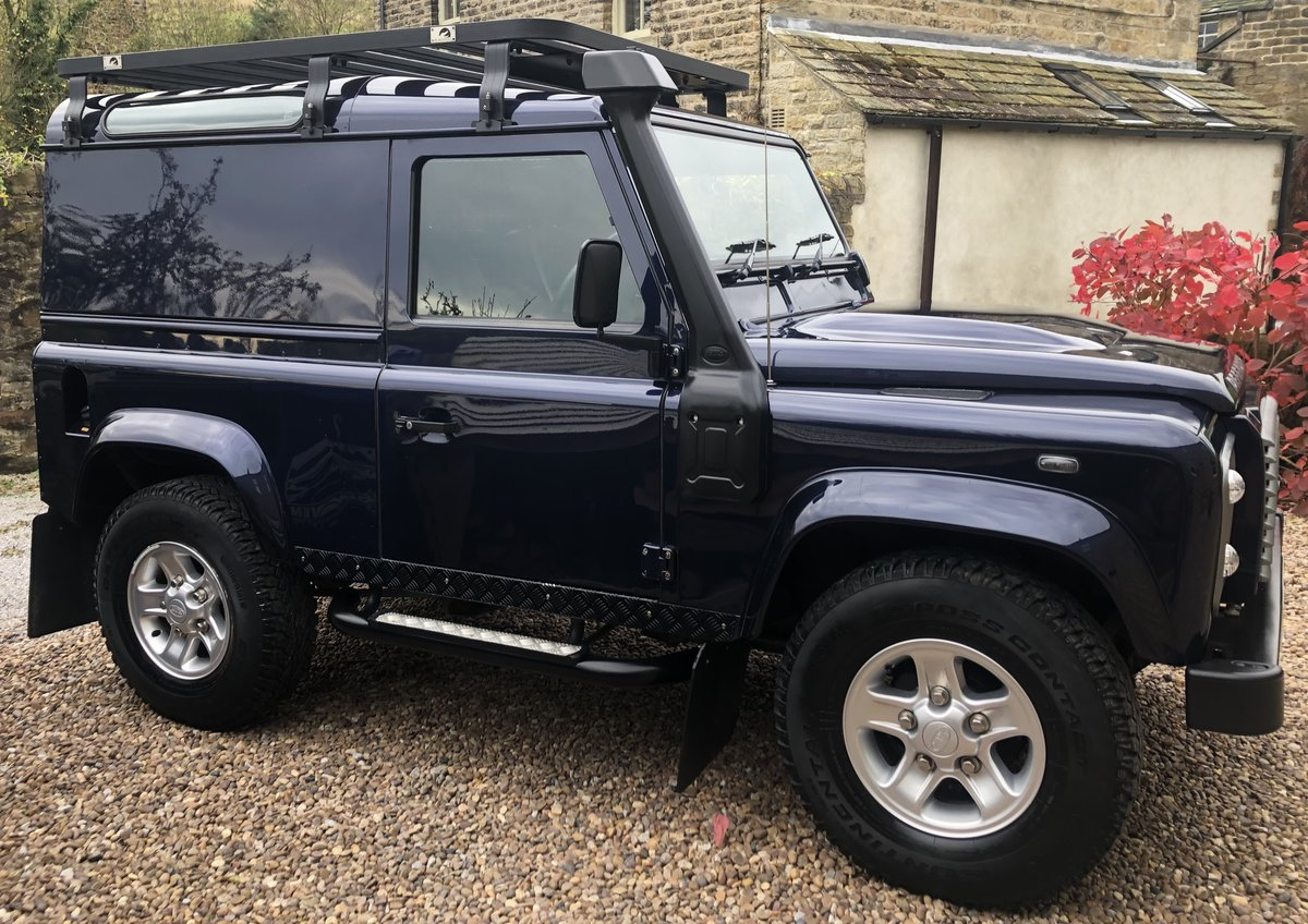 2014 LAND ROVER DEFENDER 90 HARD TOP XS For Sale (picture 1 of 6)