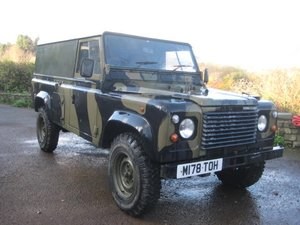 1995 Land Rover Military Defender 110 FFR For Sale