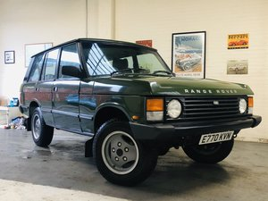 Picture of 1987 RANGE ROVER CLASSIC FLEETLINE 2.4 VM DIESEL - RESTORED SOLD