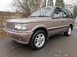 2000 Range Rover Autobiography 1 of 1 in Praire Rose For Sale