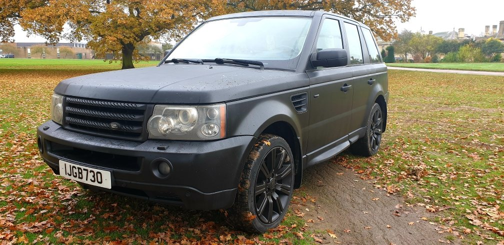 LHD 2006 RANGE ROVER SPORT 2.7 SE, DIESEL, LEFT HAND DRIVE For Sale (picture 2 of 6)