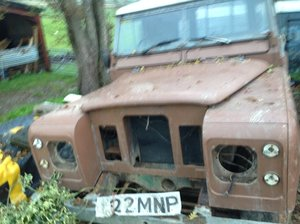 1984 Landrover series 3 one off the last