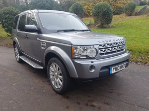 2013 LAND ROVER DISCOVERY 4 XS SDV6 AUTO For Sale