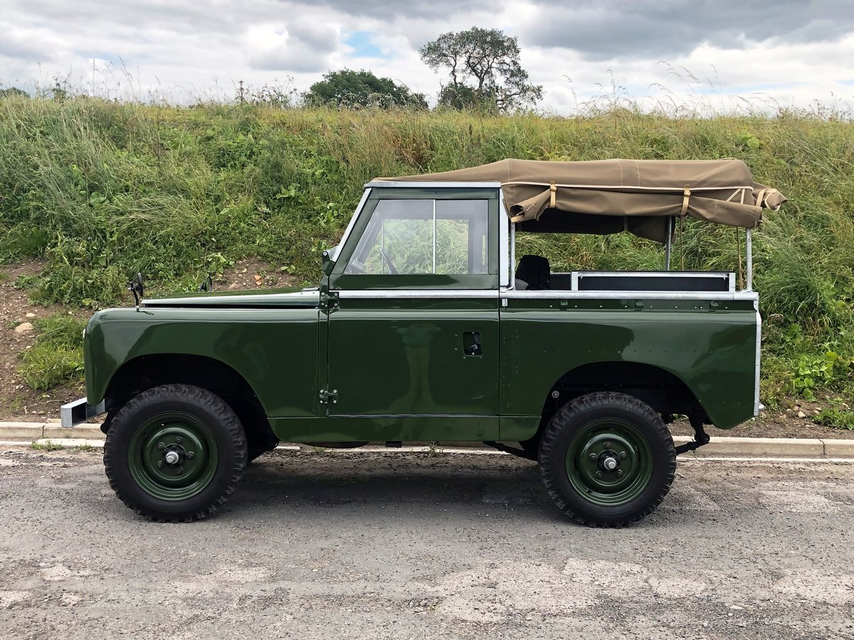1959 Land Rover Series II, Concours condition For Sale (picture 7 of 10)