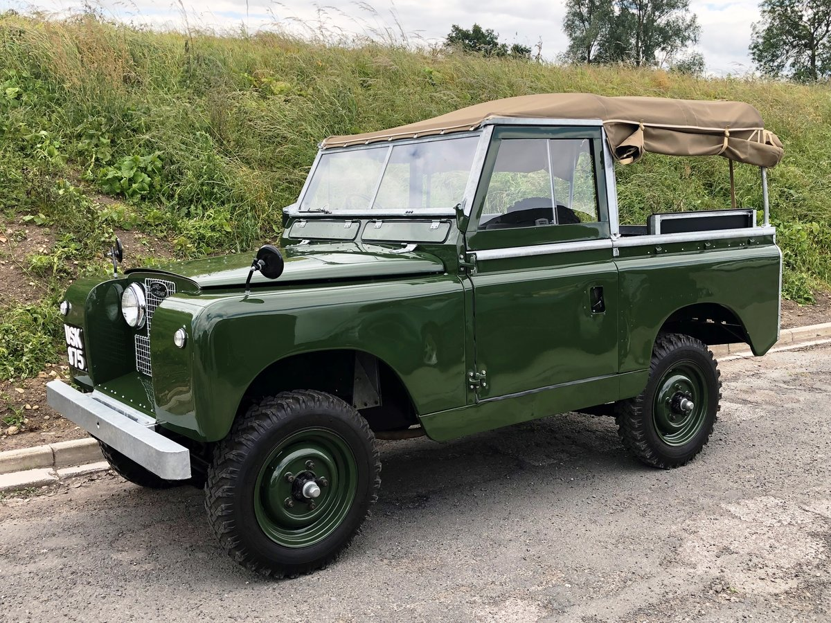1959 Land Rover Series II, Concours condition For Sale (picture 8 of 10)