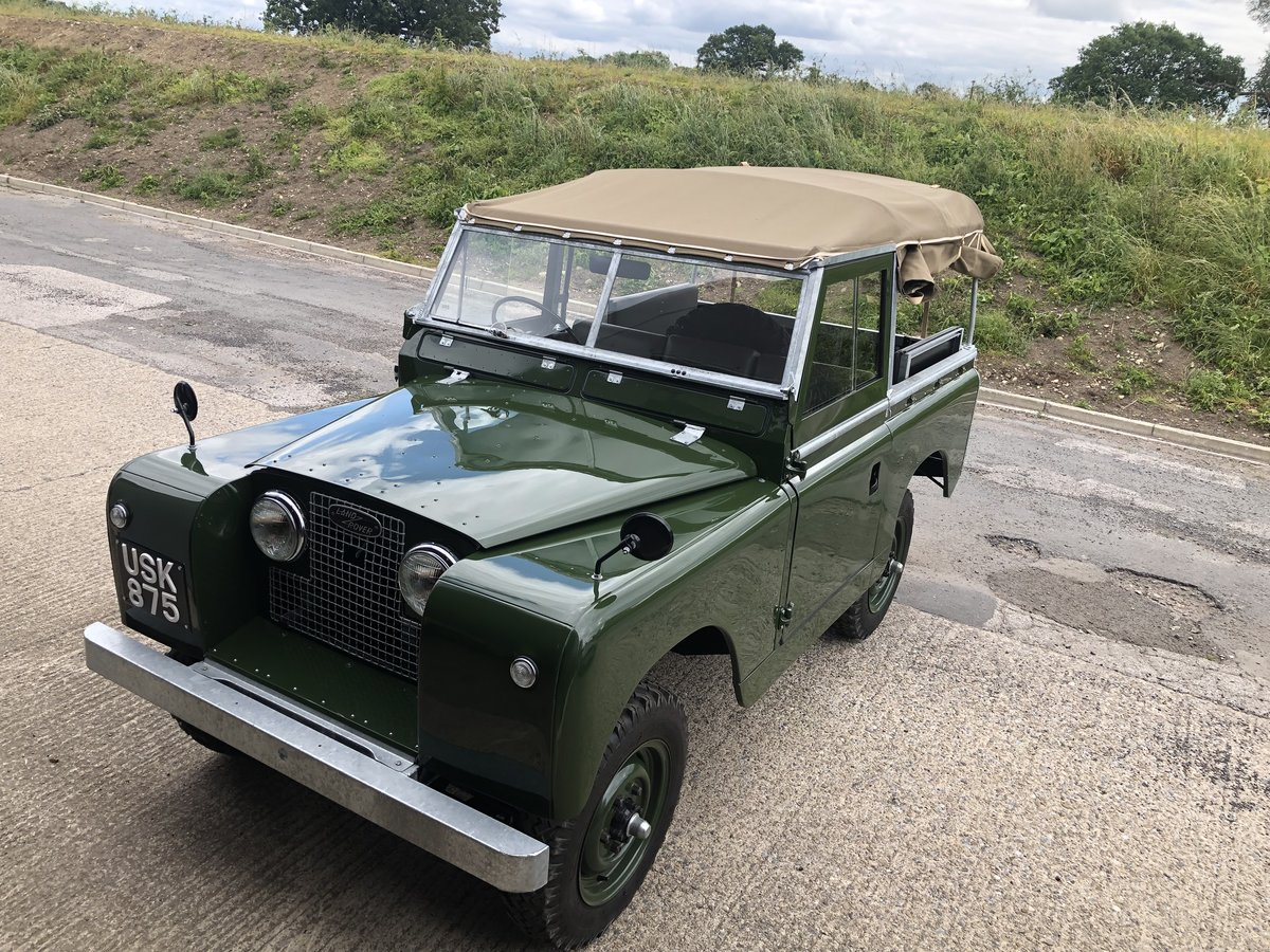 1959 Land Rover Series II, Concours condition For Sale (picture 9 of 10)