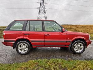 1999 Range Rover Vogue SE - 1 of 30 built, Rioja Red For Sale