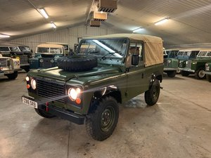 1986 Land Rover® 90 *Power Steering & Soft-Top* (SRB) SOLD