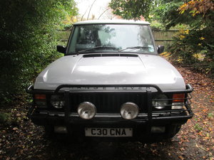 1985 4dr Silver V8 petrol auto. Run or renovate!