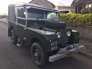 "1954 Landrover Series1  86"" For Sale"