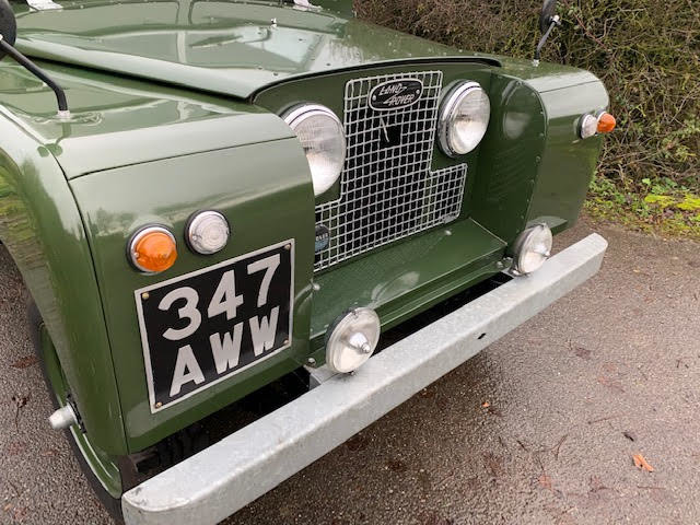 1962 Land Rover Series IIA – Diesel – 63,000 miles For Sale (picture 2 of 16)