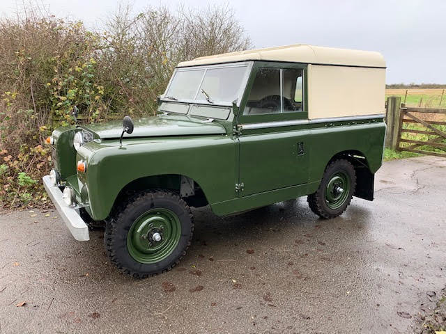 1962 Land Rover Series IIA – Diesel – 63,000 miles For Sale (picture 4 of 16)