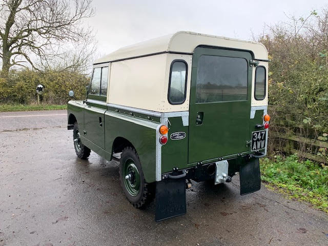 1962 Land Rover Series IIA – Diesel – 63,000 miles For Sale (picture 7 of 16)