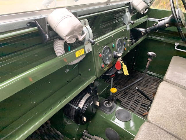 1962 Land Rover Series IIA – Diesel – 63,000 miles For Sale (picture 11 of 16)
