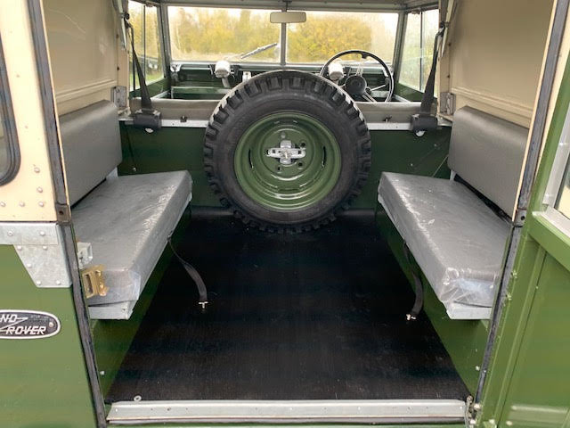 1962 Land Rover Series IIA – Diesel – 63,000 miles For Sale (picture 12 of 16)