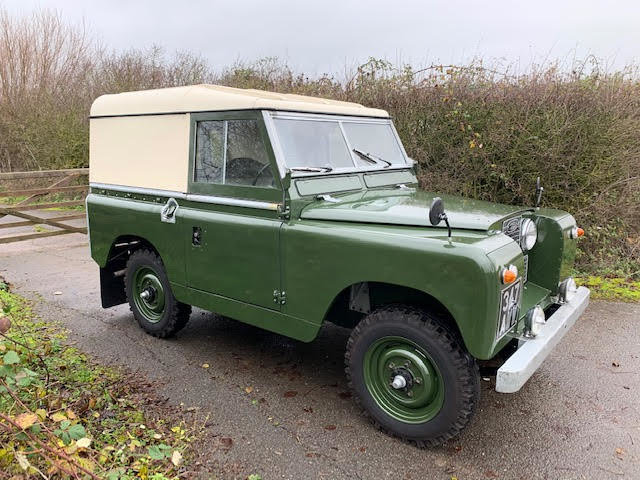 1962 Land Rover Series IIA – Diesel – 63,000 miles For Sale (picture 14 of 16)
