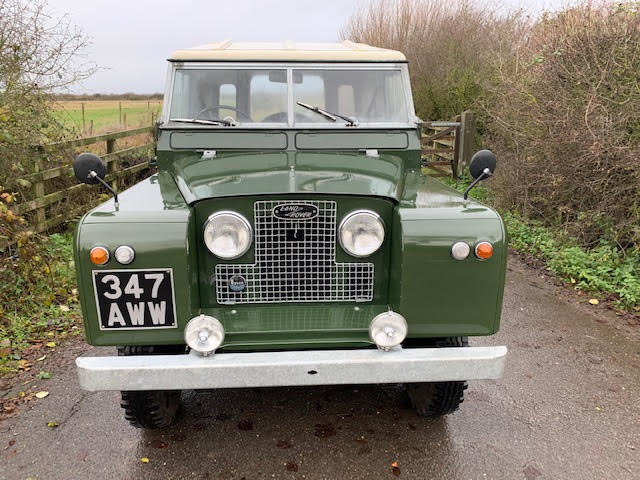 1962 Land Rover Series IIA – Diesel – 63,000 miles For Sale (picture 16 of 16)