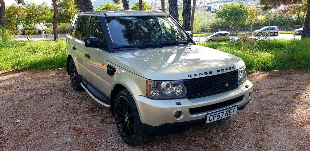 LHD 2008 RANGE ROVER SPORT 3.6 TDV8, DIESEL, LEFT HAND DRIVE For Sale (picture 1 of 6)