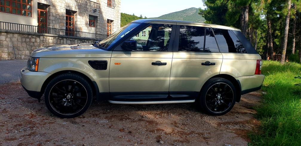 LHD 2008 RANGE ROVER SPORT 3.6 TDV8, DIESEL, LEFT HAND DRIVE For Sale (picture 2 of 6)
