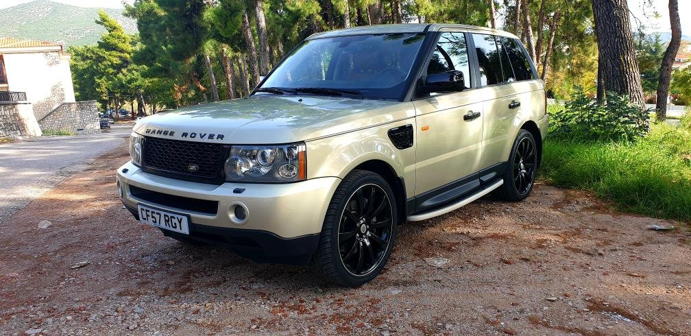 LHD 2008 RANGE ROVER SPORT 3.6 TDV8, DIESEL, LEFT HAND DRIVE For Sale (picture 3 of 6)