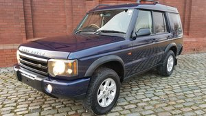 2004 LAND ROVER DISCOVERY 4.0 V8 SE HALF LEATHER 4X4 * LOW MILES For Sale