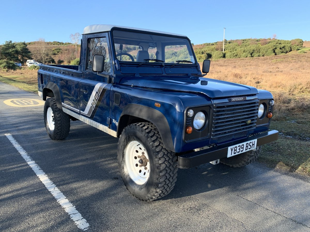 Land Rover County TD5 110 Pickup 2001 New Chassis For Sale (picture 1 of 6)
