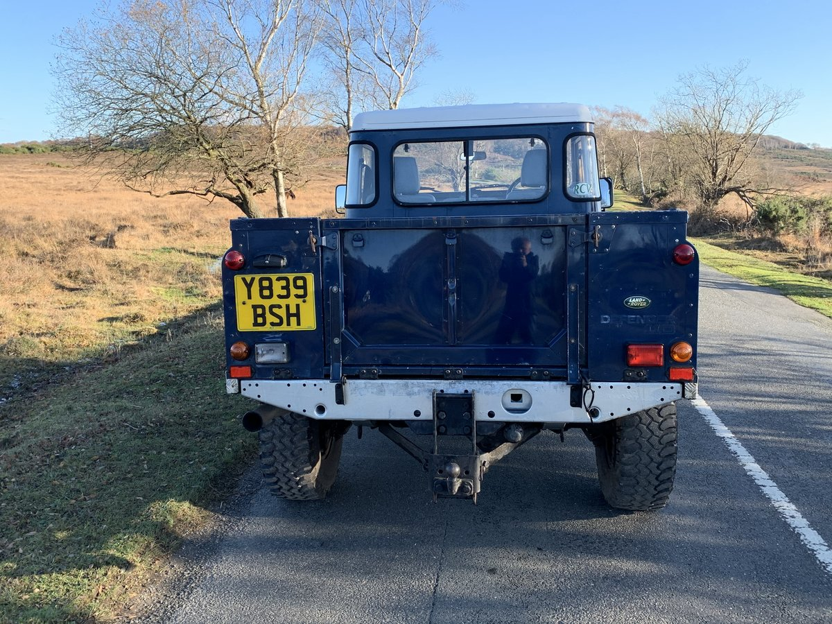 Land Rover County TD5 110 Pickup 2001 New Chassis For Sale (picture 4 of 6)
