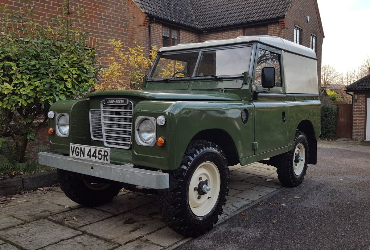 1977 Land Rover Series 3 For Sale (picture 1 of 6)