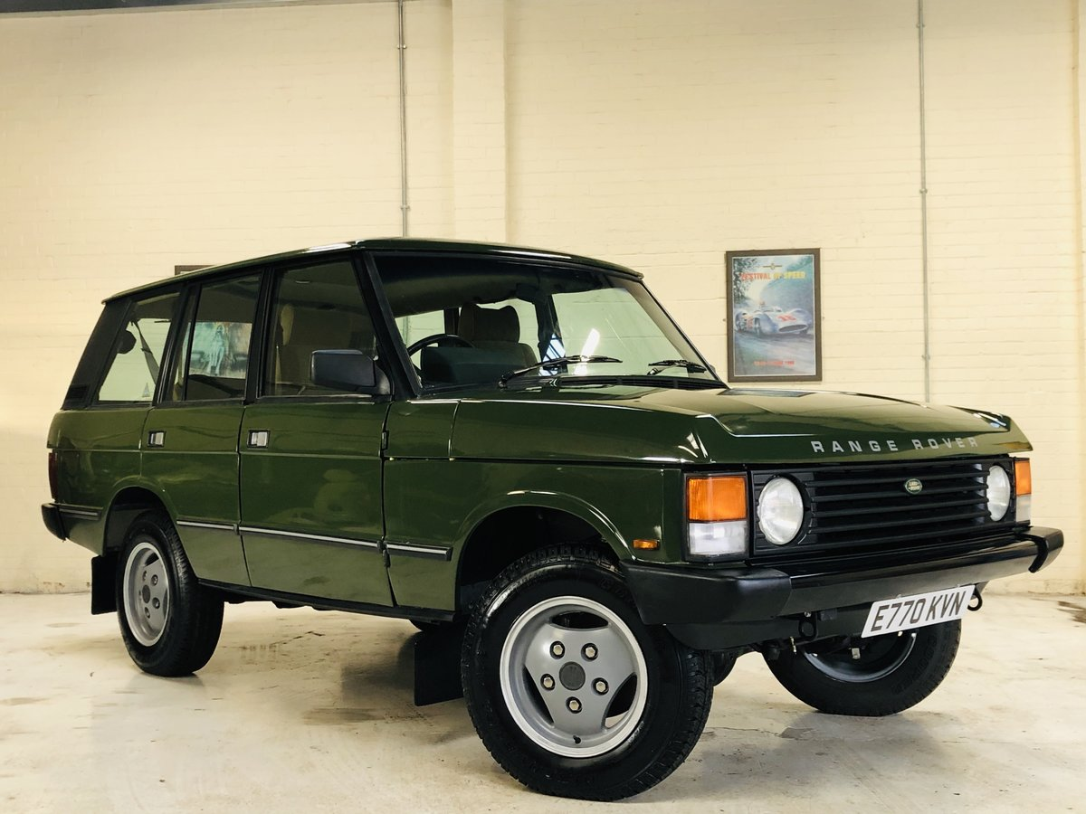 1987 RANGE ROVER CLASSIC FLEETLINE 2.4 VM DIESEL - RESTORED SOLD (picture 1 of 6)