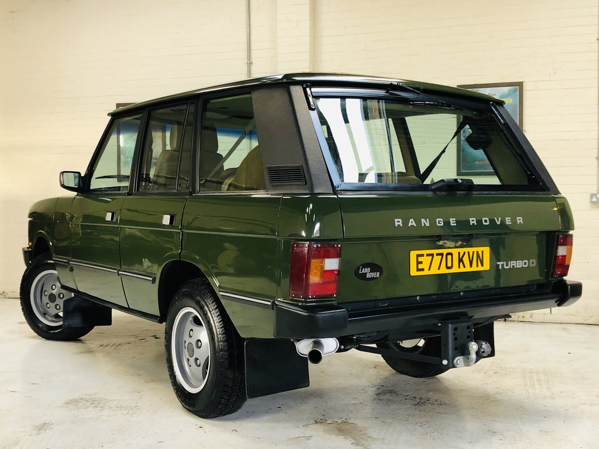 1987 RANGE ROVER CLASSIC FLEETLINE 2.4 VM DIESEL - RESTORED SOLD (picture 2 of 6)