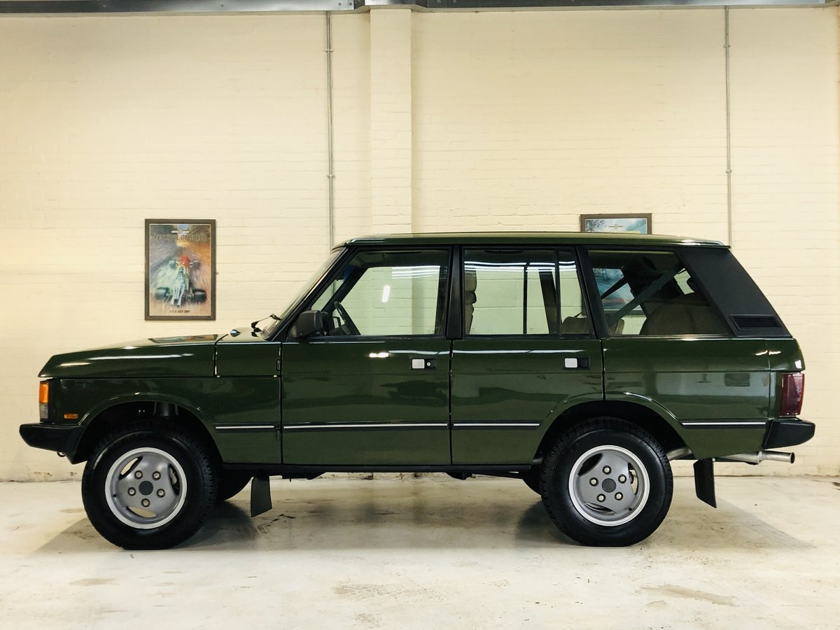 1987 RANGE ROVER CLASSIC FLEETLINE 2.4 VM DIESEL - RESTORED SOLD (picture 3 of 6)