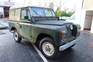 Land Rover Series 2 1962 - To be auctioned 31-01-20