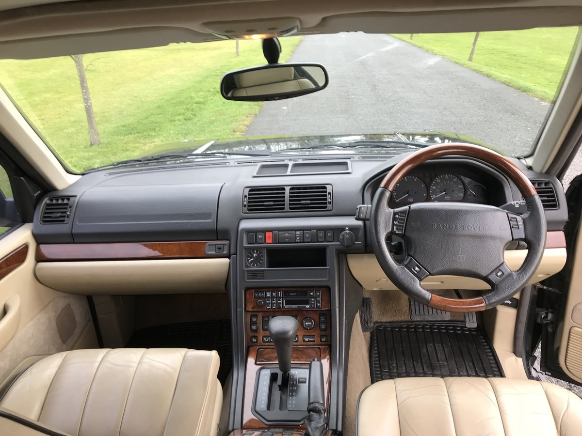 1997 Range Rover p38 4.6 hse fsh  For Sale (picture 5 of 6)