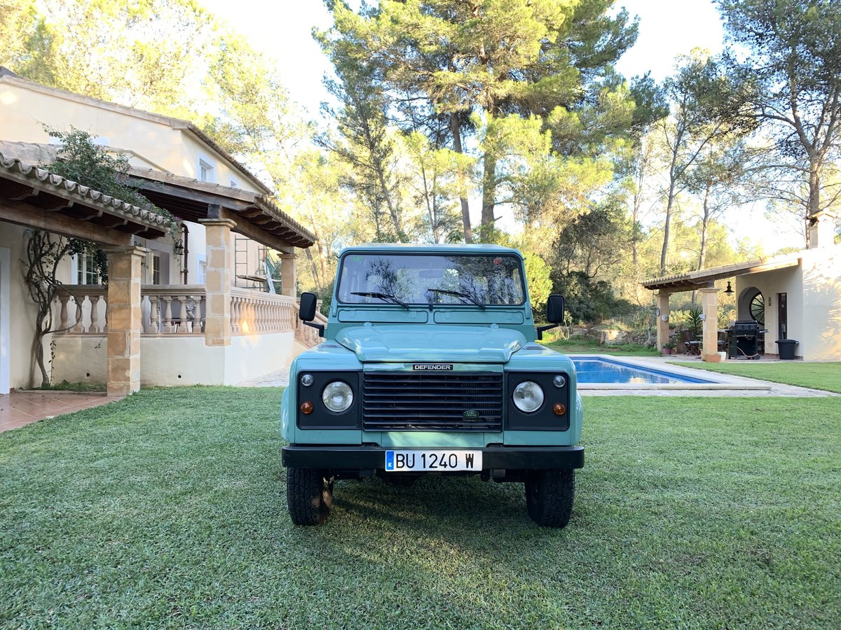 1996 LHD-Land-Rover-Defender-90-TDi-199 For Sale (picture 5 of 6)