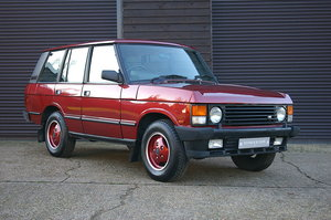 1992  Land Rover Range Rover 3.9 EFI V8 Vogue Auto (92,342 miles) For Sale