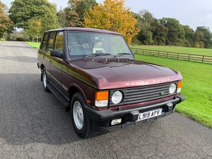1994 Range Rover classic 3.9 EFI soft dash Vogue SE For Sale