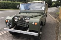 1951 Series I 80 - Tuesday 10th December 2019 For Sale by Auction